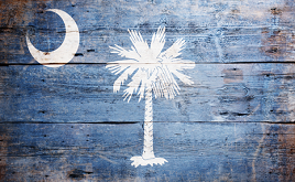 Vintage South Carolina Flag