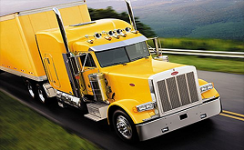 Yellow Big Rig Trucking
